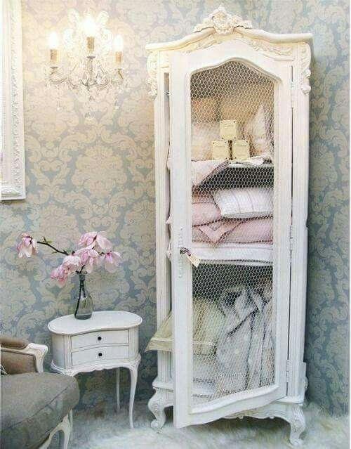 Piccolo armadio shabby my dream pinterest dormitorio for Arredamento francese shabby