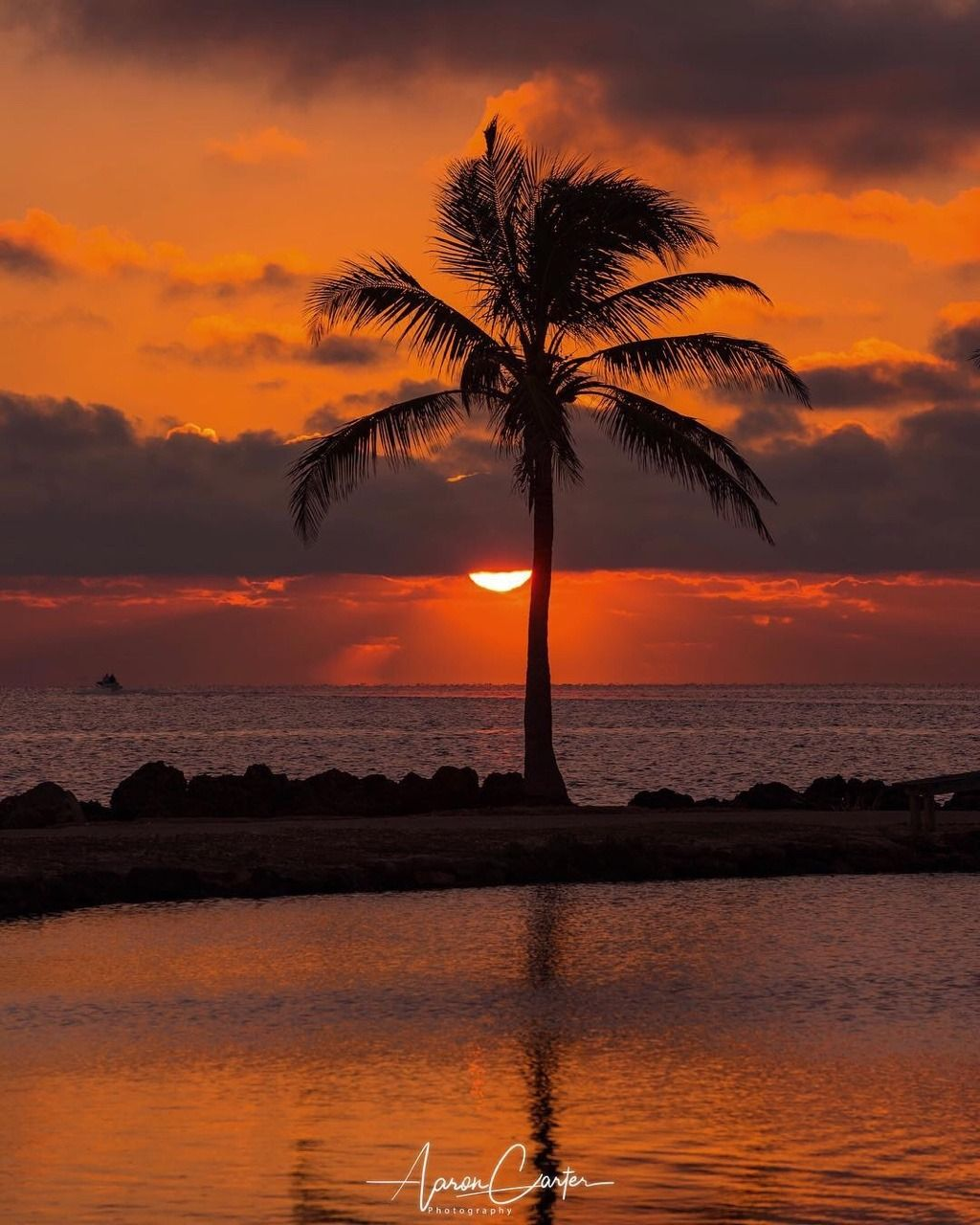 Biscayne Bay, Florida By Aaron Carter