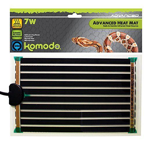 Komodo Advanced Heat Mat 7w 142x274mm With Images Heat Mat Komodo Heat