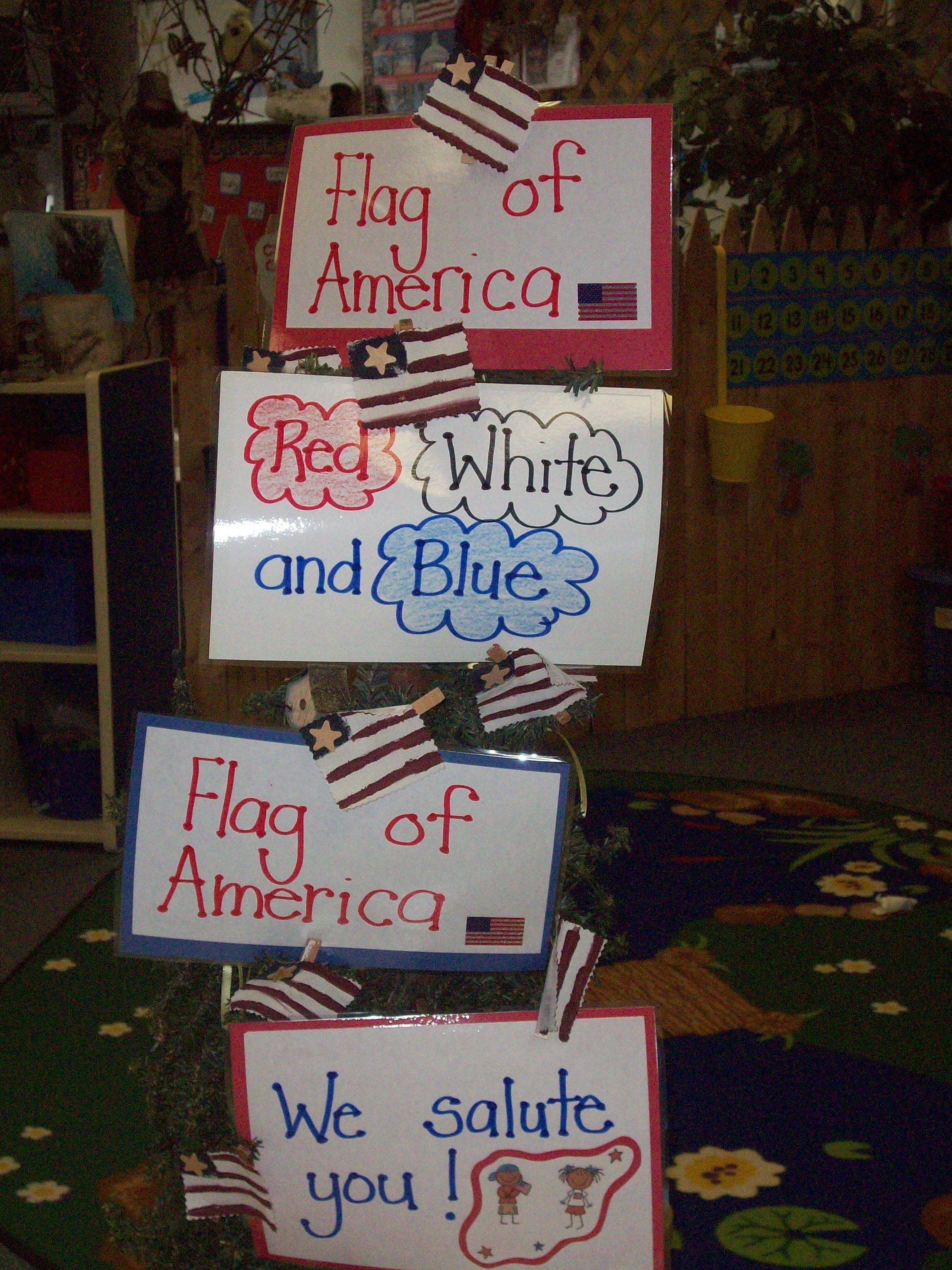 Flag Of America Poem