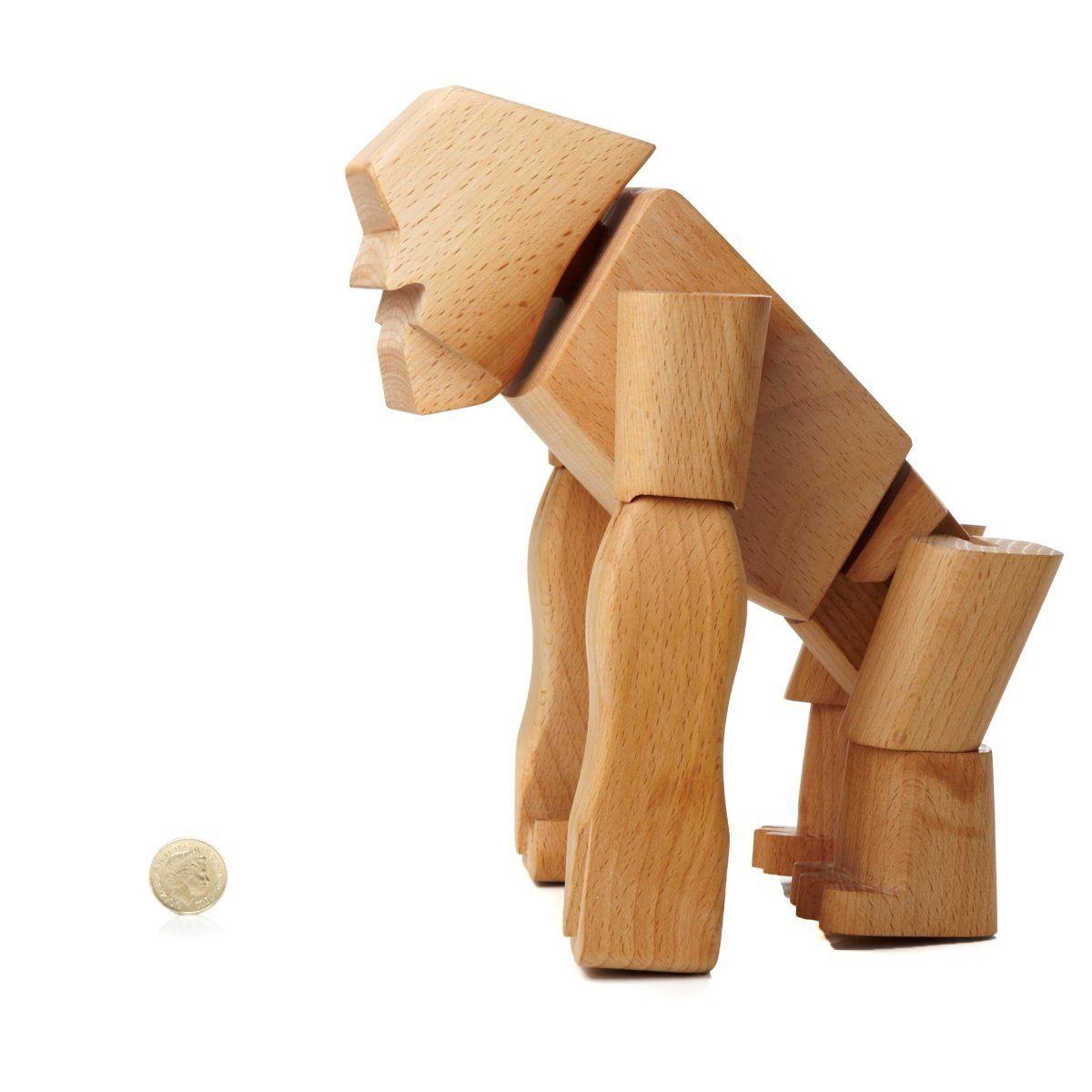 amazon: areaware hanno the gorilla: toys & games | toys