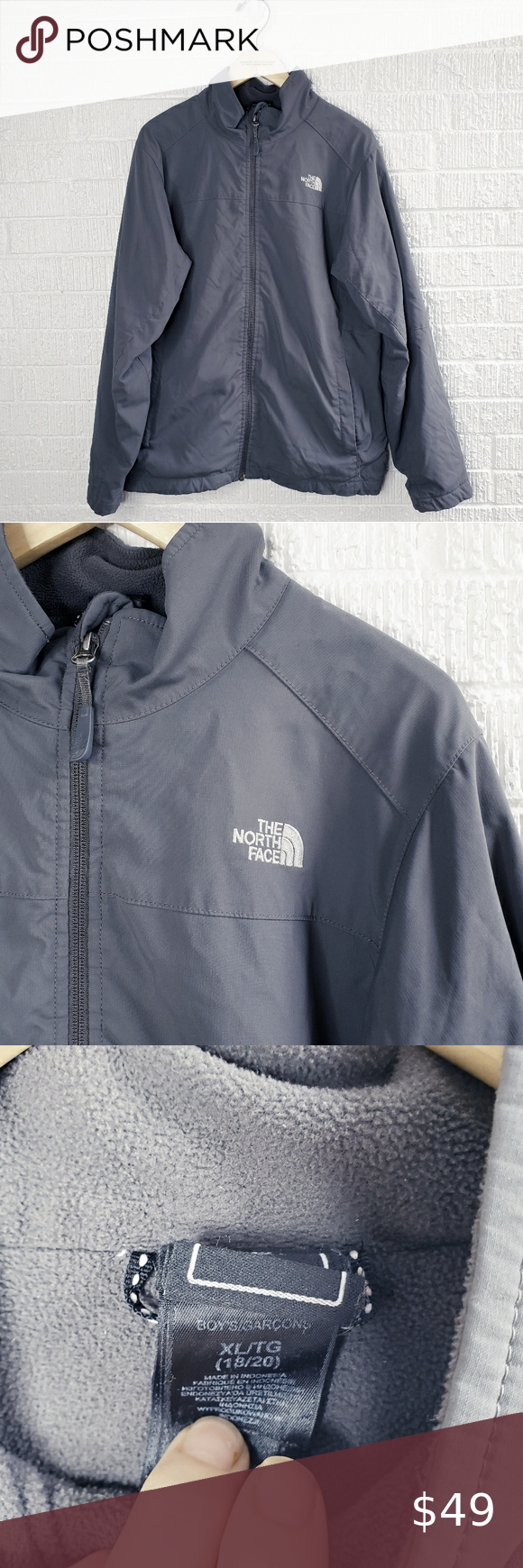 Boys North Face Jacket Gently Used Condition Fleeced Lined The North Face Jackets Coats North Face Jacket Jackets The North Face [ 1740 x 580 Pixel ]