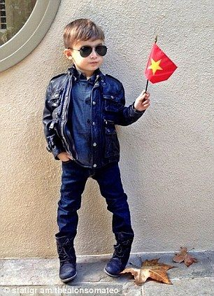 Meet The Fiveyearold Boy In Dior Tom Ford And Gucci Who Has - Meet 5 year old alonso mateo best dressed kid ever seen