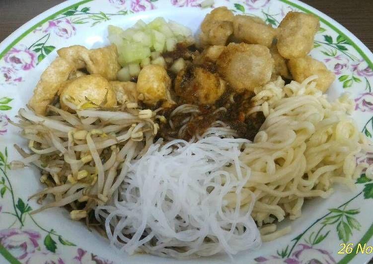 Resep Rujak Mie Palembang Oleh Riris Jhonson Resep Resep Resep Masakan Indonesia Resep Makanan