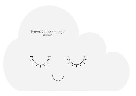 diy fabriquer un coussin nuage patron gratuit tutos en fran ais. Black Bedroom Furniture Sets. Home Design Ideas