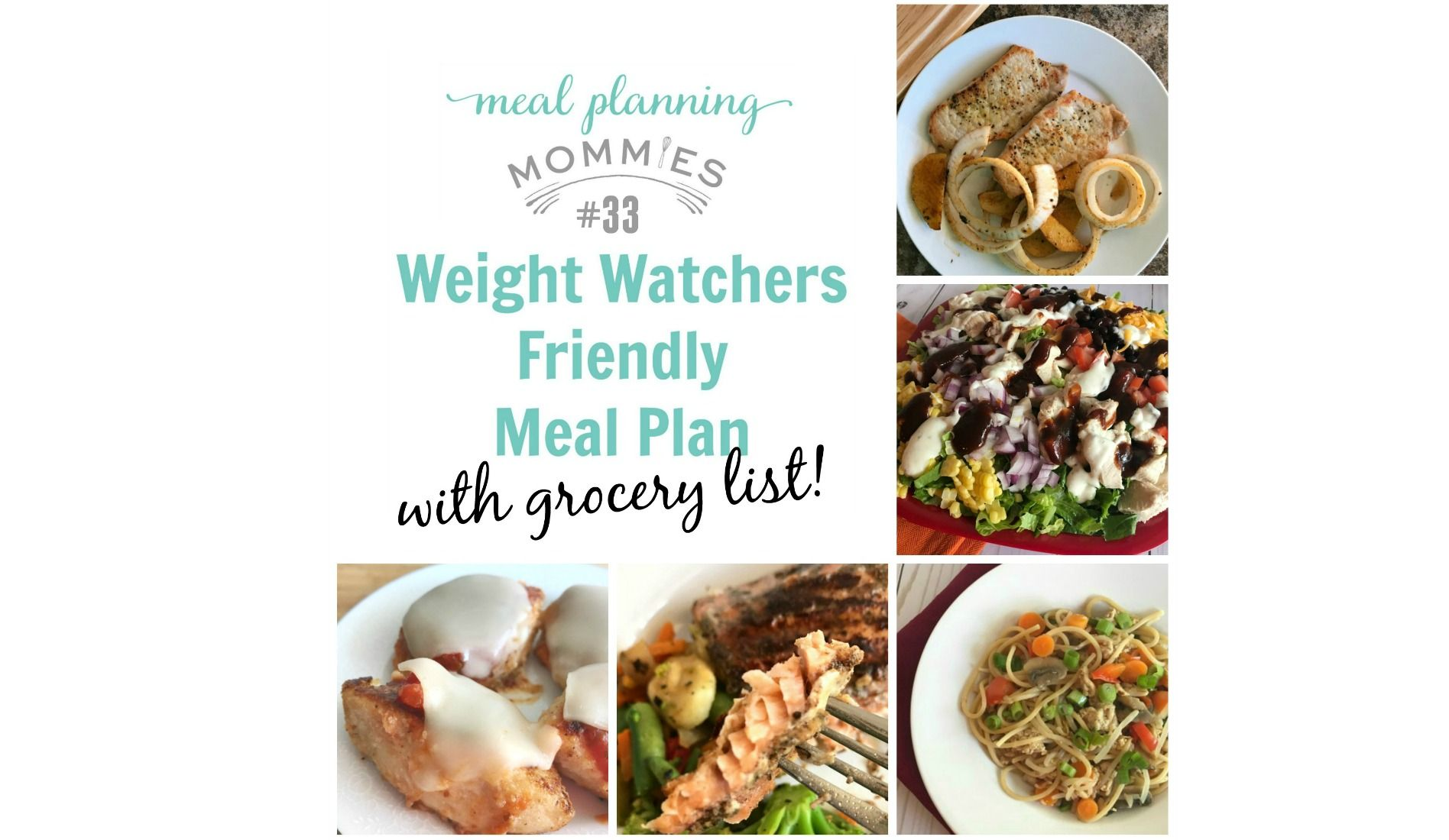 weight watchers friendly meal plan 33 with freestyle smart points