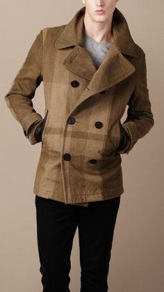 Caban nel 2020 | Uomini moda casual, Moda uomo inverno e