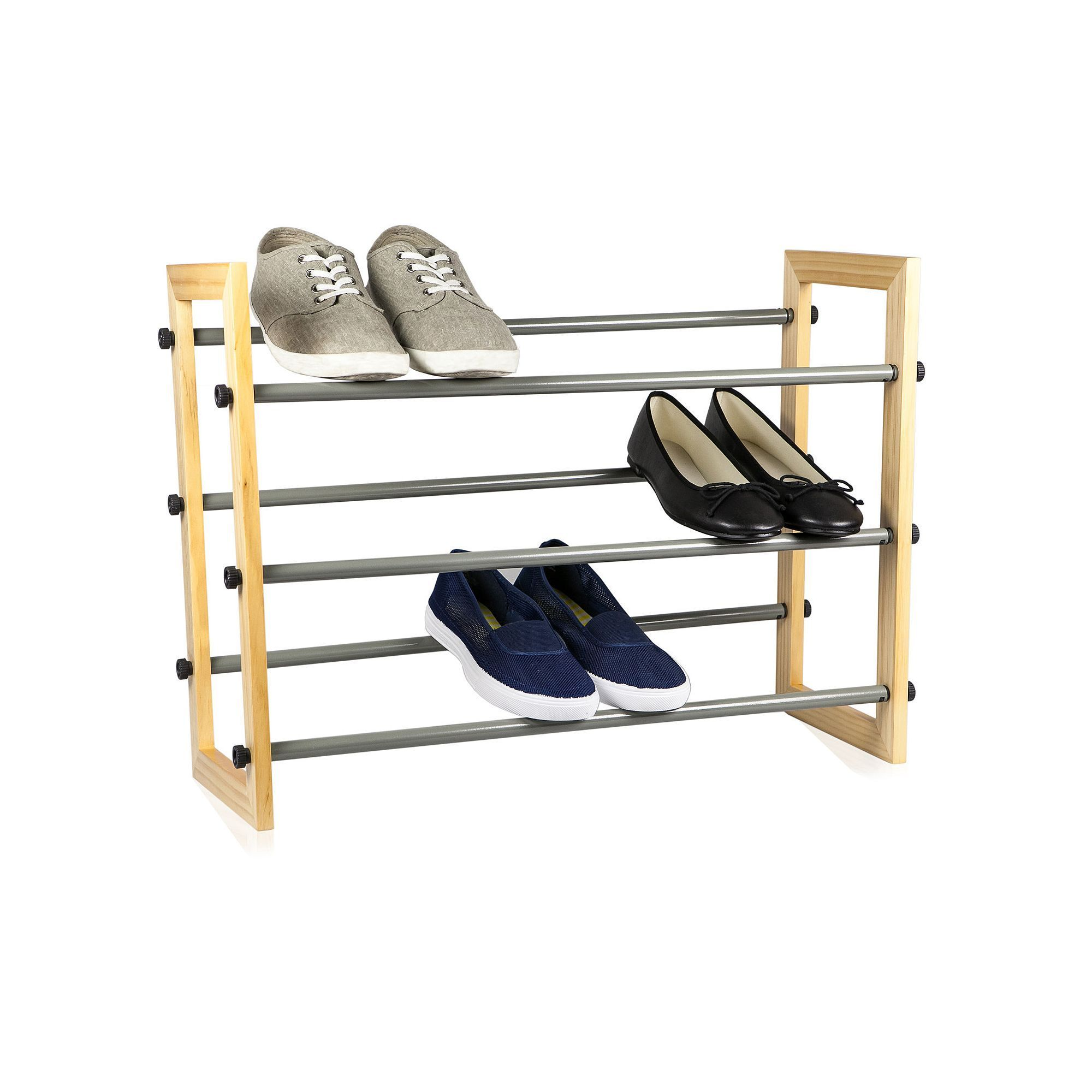 Sunbeam tier expandable shoe rack pinterest shoe rack and products