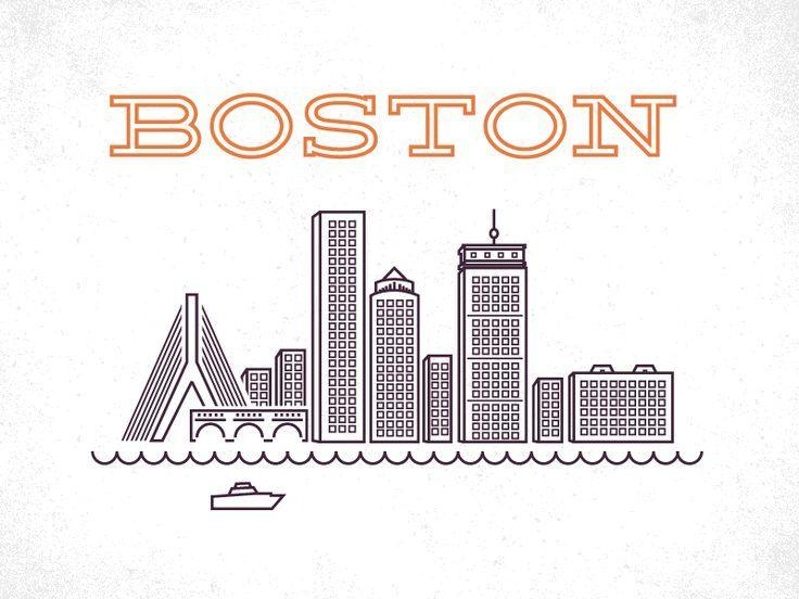 25 Best Ideas About Boston Skyline On Pinterest Bay State