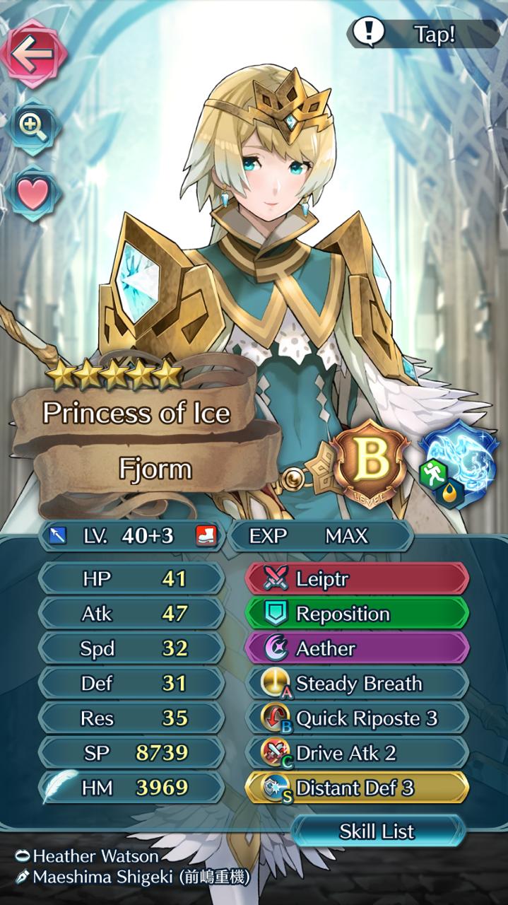Talk Feh Meta To Me Fire Emblem Heroes Fire Emblem List Of Skills