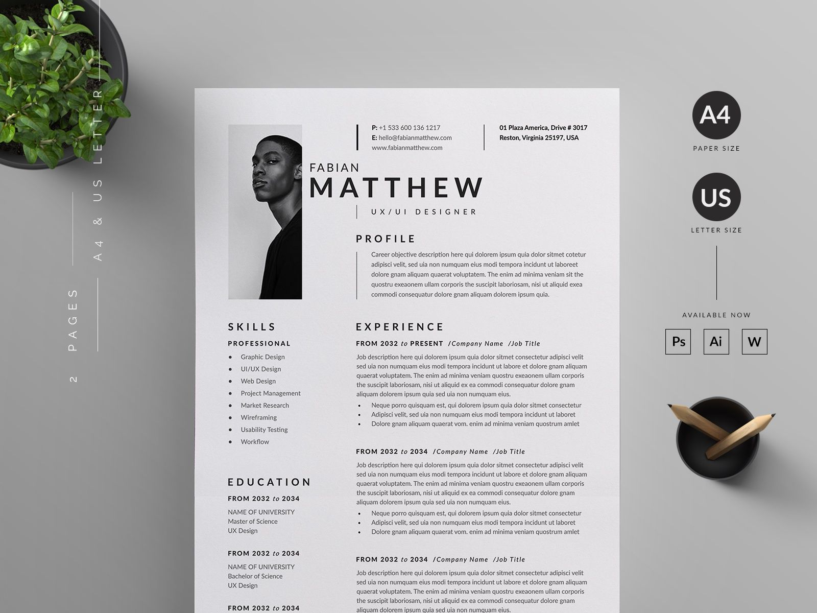 Resumecv in 2020 resume cv resume lettering