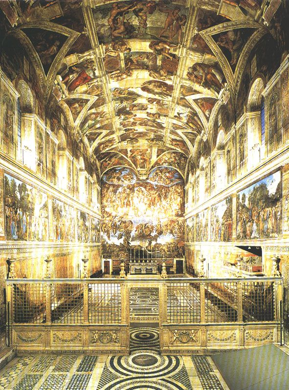 Sistine Chapel Vatican City, Rome