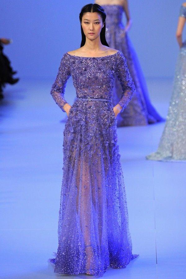 Elie Saab Haute Couture S/S 2014 | Colors - Blue | Pinterest ...
