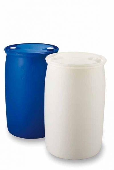 Vloeistofvat UN rond 220 Liter en 120 liter,  De basis voor onze Top Barrel Bar Hive!