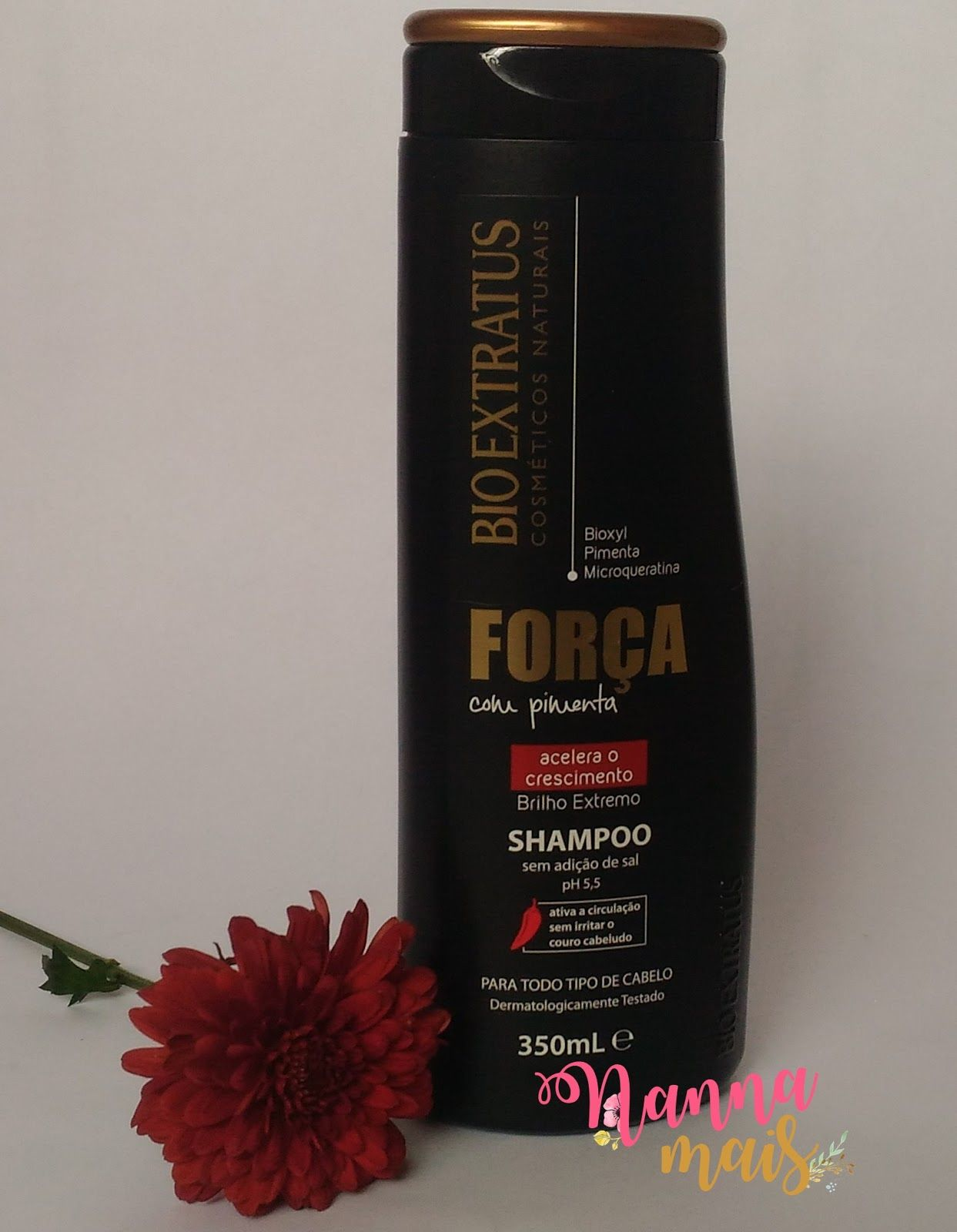 Resenha Shampoo Forca Com Pimenta Bio Extratus Com Imagens