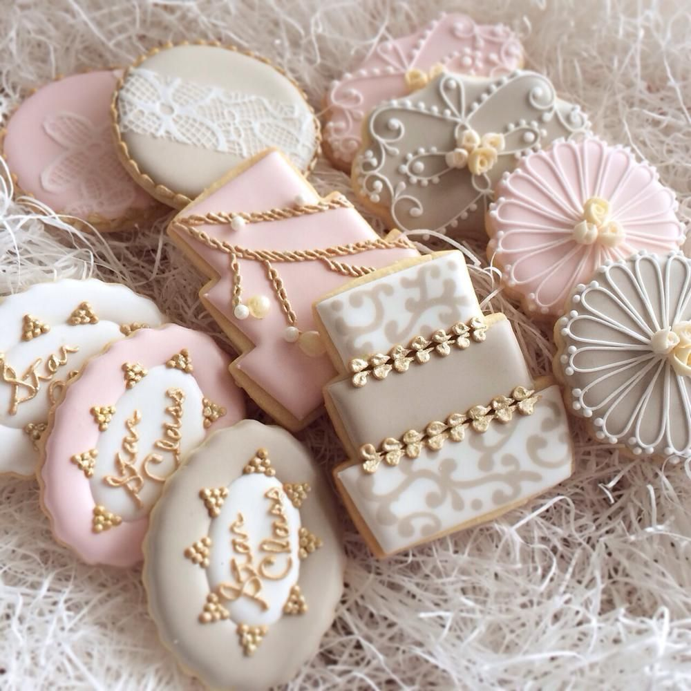 Celebration cookie cookie connection wedding cookies