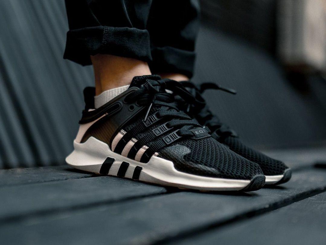 Adidas EQT Support ADV Winter Grey/white Sneaker Politics
