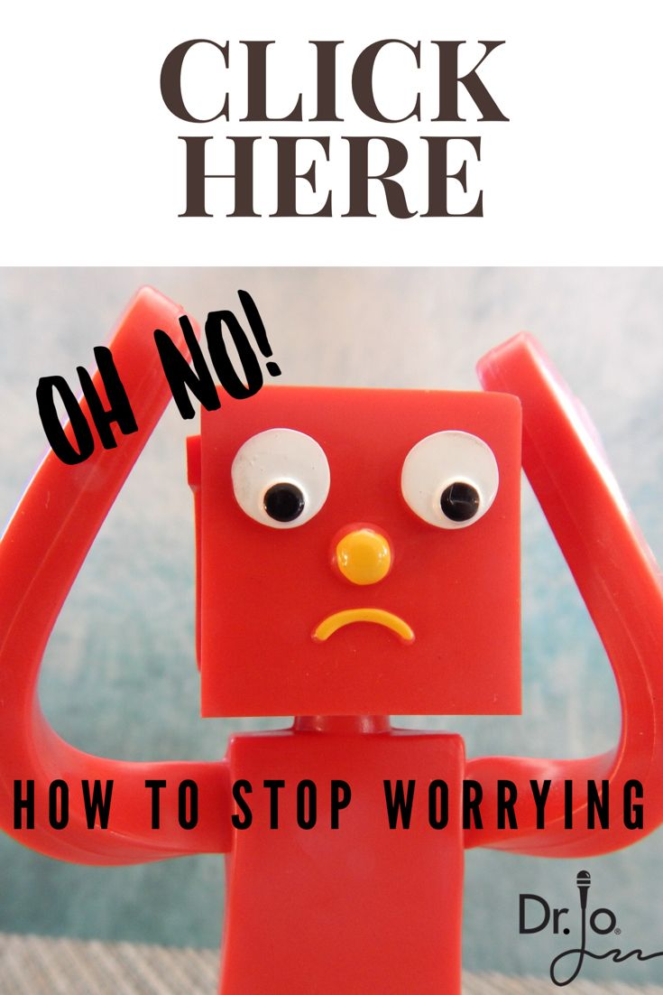 Does worry get you down? Keep you stressed all day – and up all night? Constant worry and negativity not only doesn't feel good, it can hurt our health, weight, and energy level.  While we probably can't really STOP worry (sorry about deceiving you with the title), here are some tips on how to not let our worries get us down.