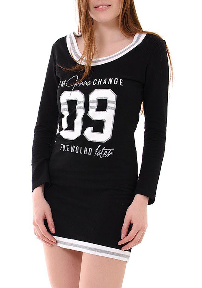 Γυναικείο κοντό basic φόρεμα με τύπωμα €9.90 - € http   www. 6dff72966b7