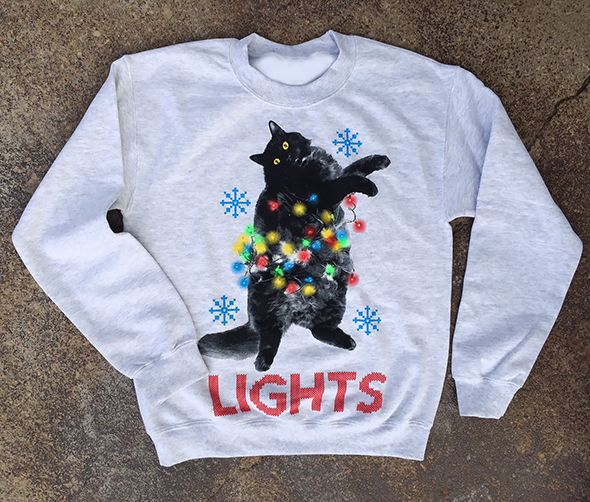 LIGHTS 2015 -Stanley- Holiday Sweater