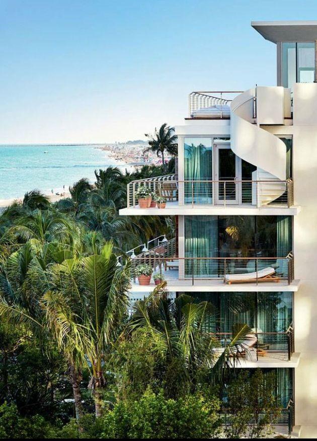 Miami Beach Edition // hotel archicteture Hotéis de luxo