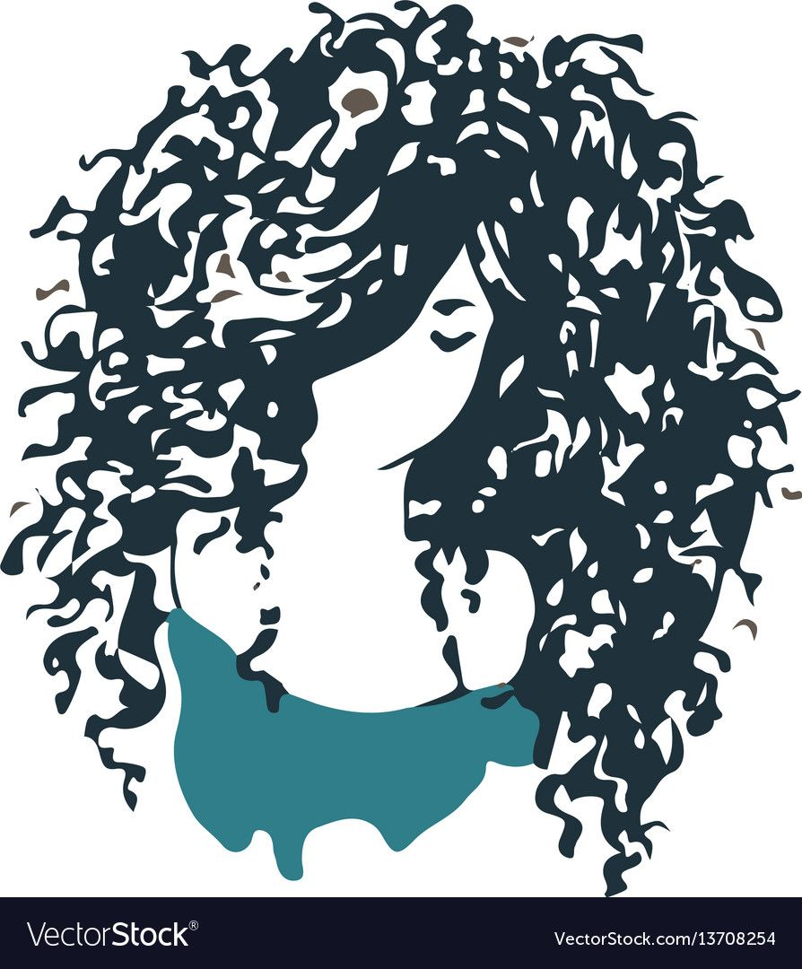 Beauty Salon Or Hair Product Logo Design Download A Free Preview Or High Quality Adobe Illustrator Ai Eps P Hair Logo Curly Girl Hairstyles Hair Logo Design