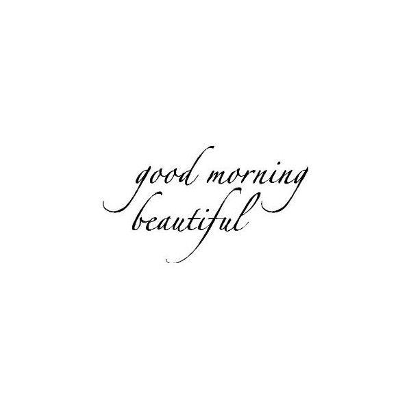 amazon com good morning beautiful wall words sayings quotes