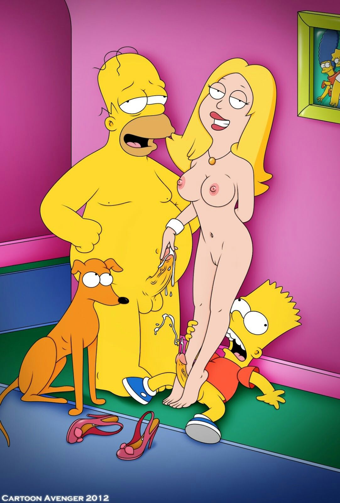 Francine smith cartoon porn