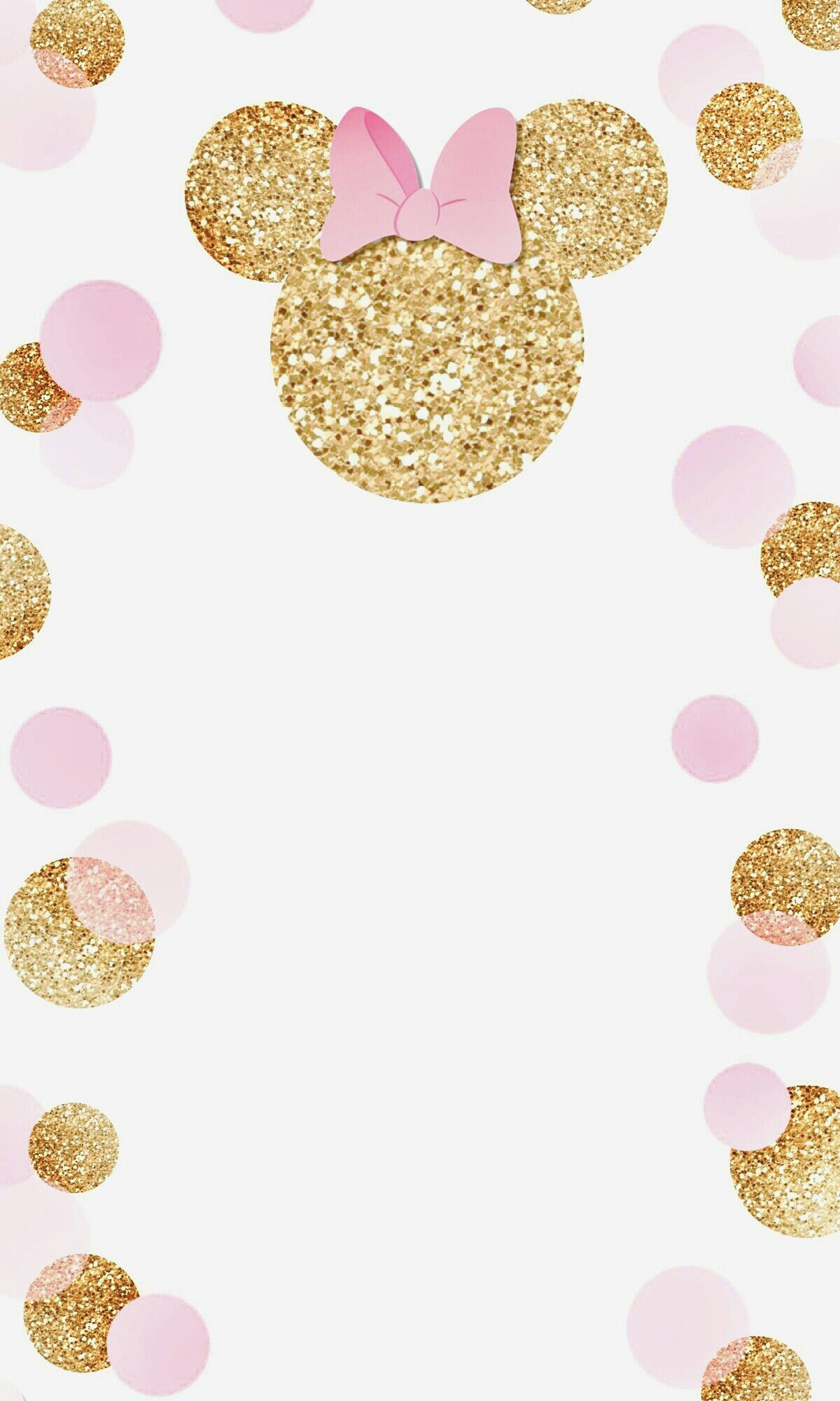 Pin By Princess On Backgrounds In 2019 Minnie Birthday Birthday