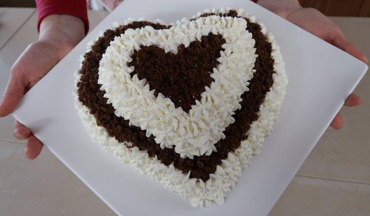Torta Furba Panna E Cioccolato Italienische Rezepte Desserts