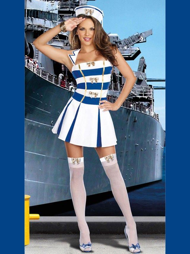 5f56b99a8 Disfraz de Marinera de Anclas DF235 | DISFRAZ | Vestidos marineros ...