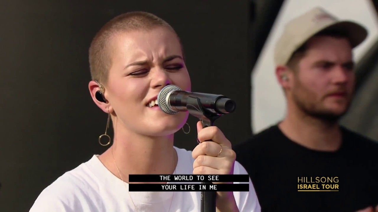 Hillsong United Broken Vessels Live Show At The Sea Of Galilee