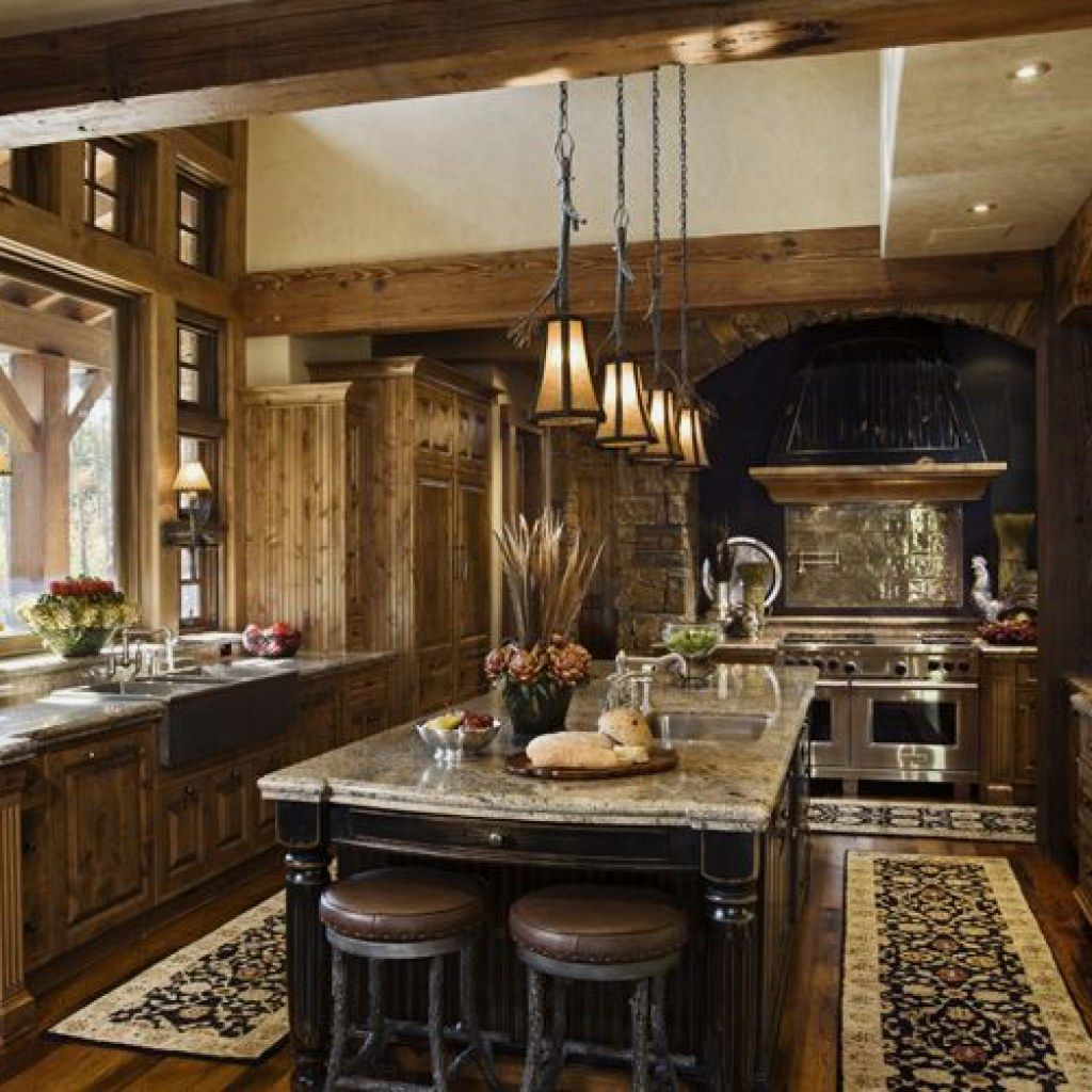 10 Easy Rustic Kitchen Decor You Can Copy For Your Kitchen