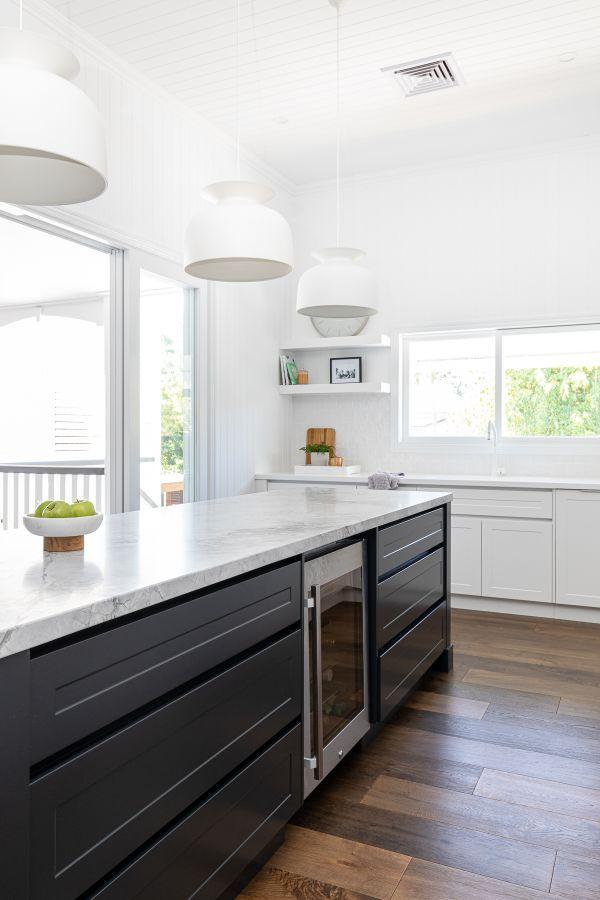 reveal a classic queenslander renovated in modern hamptons style bella vie interiors in 2020 on kitchen interior queenslander id=17681