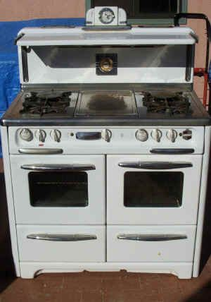 1940u0027s Wedgewood Double Oven From Classical Gas Stoves