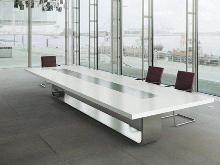 Rectangular Meeting Table S8000 By Thonet Design Hadi