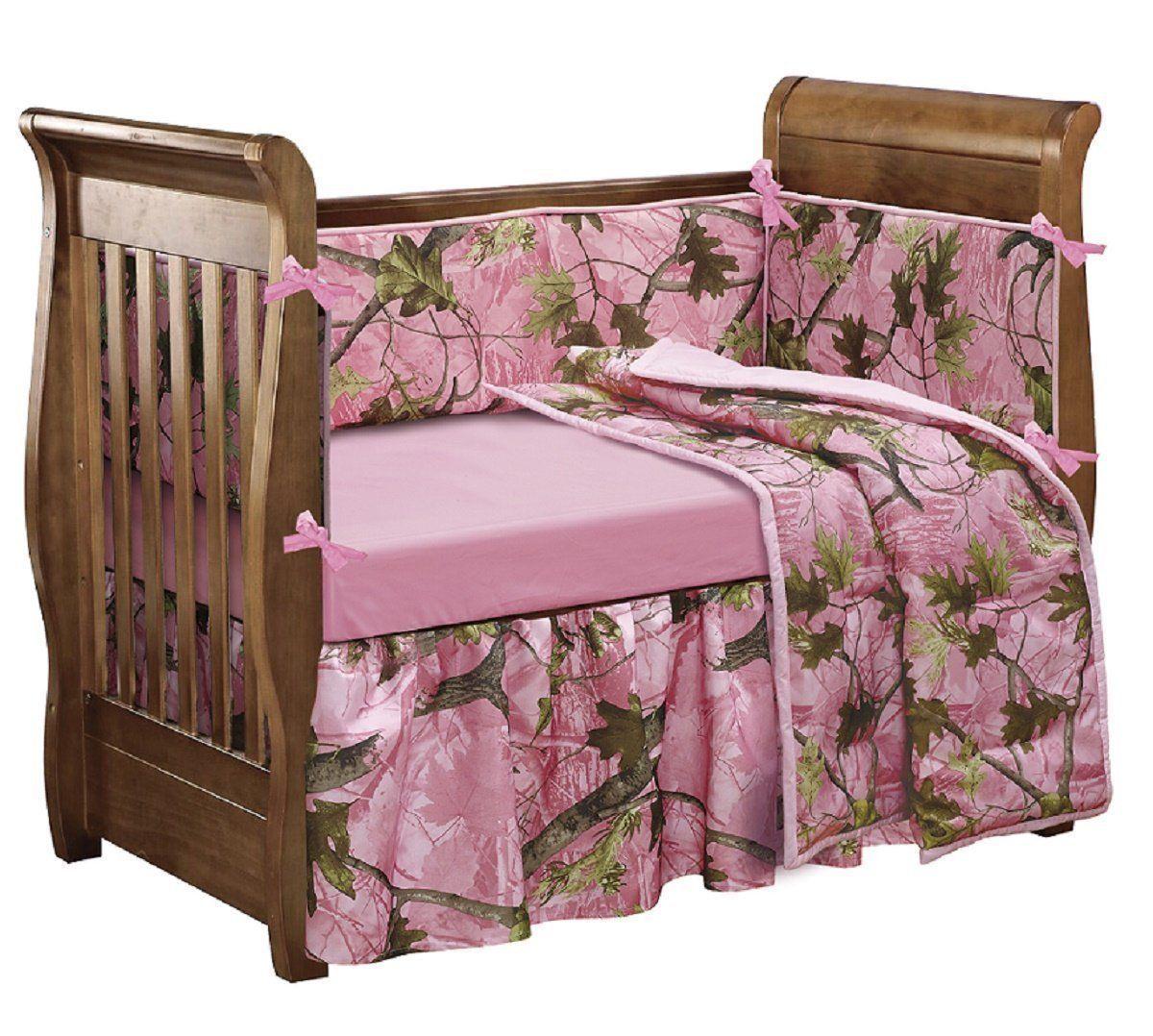 Baby Crib Set Nursery Bedroom Kids Girl Bedding Soft