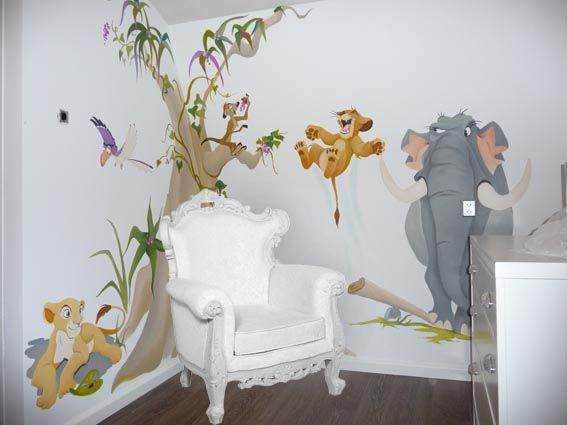 Kinderkamer Jungle Behang : Dieren schilderen kinderkamer ecosia