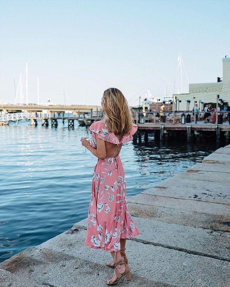 Yumi Kim Darby Wrap Dress Summer Dresses Stylish