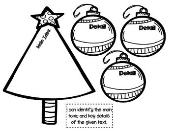 Christmas Tree Themed FREEBIE for Interactive Literacy