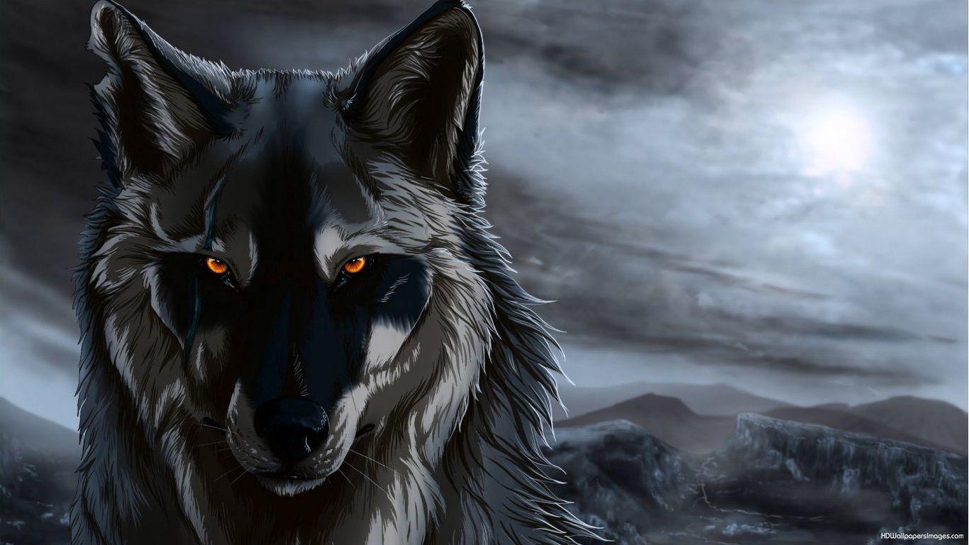 wolves art animation Anime Wolf 540x303 Anime Wolf