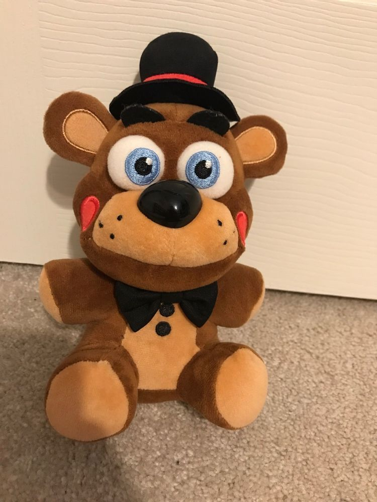 Funko FNAF Toy Freddy Plush GameStop Exclusive RARE VAULTED