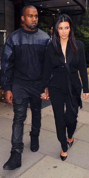 Kim Kardashian Kanye West Wedding Style Kim Kardashian Kanye West Style Photos Kardashian Photos Kim And Kanye Kanye West And Kim