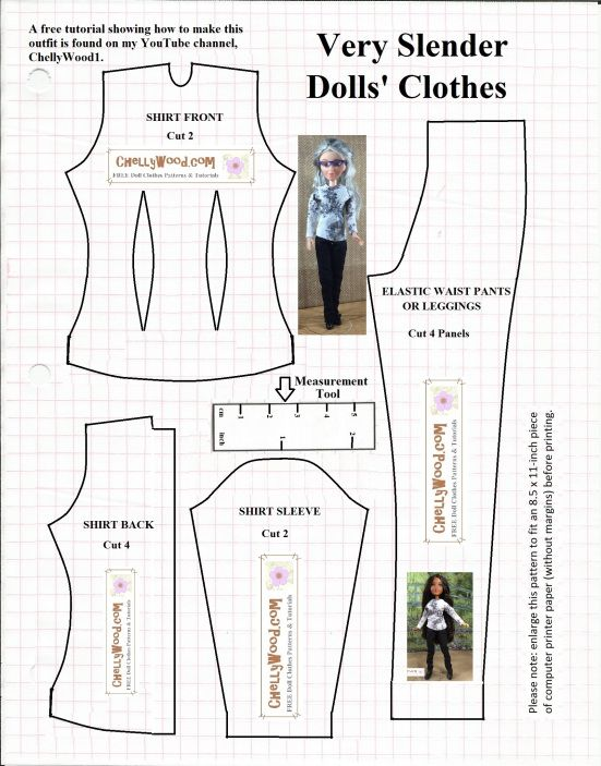 Please visit ChellyWood.com for free printable sewing patterns to ...