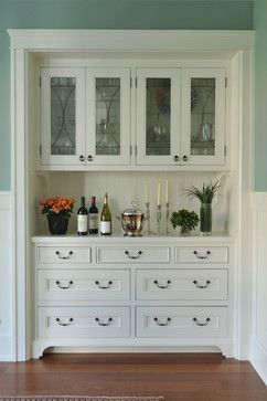 Charmant Built In China Cabinet / Bar   Craftsman   Kitchen   San Francisco   FGY  Architects Will Put Something Similar On Wall In Dining Room For Look And  ...