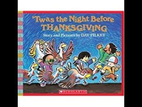 Twas the Night Before Thanksgiving - Stories for Kids - YouTube ...