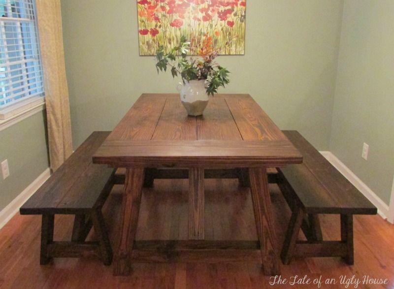 Restoration Hardware Inspired Dining Table July 10 2014