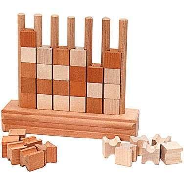 Old Wooden Games Komono Játék Játékok Famegmunkálás