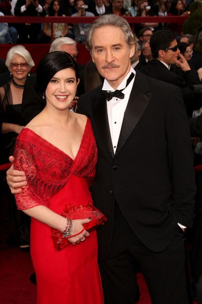 Happily married husband and wife: Kevin Kline and Phoebe Cates
