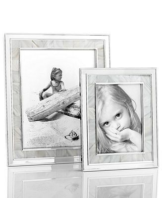 Martha Stewart Collection Mother of Pearl Frame Collection | Martha ...